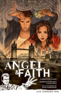 Angel & Faith: Live Through This cover art